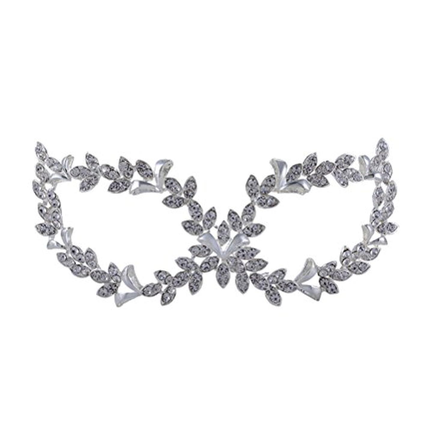 一目協定少数ROSENICE 仮面舞踏会マスク 調節可能