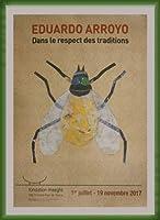 ポスター エドゥアルド アロヨ Dans Le Respect Des Traditions 額装品 ウッドベーシックフレーム(グリーン)