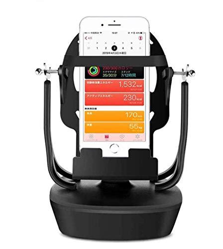 最新 回転スイング バランスボール 歩数を増やす スピード調節 稼ぐ 永久運動 携帯電話自動スイング USB給電 振り子教育玩具 ポケモンゴー Pokemon GO & walkr Google Fit スマホスタンド すぐれた品 (2019最新版)