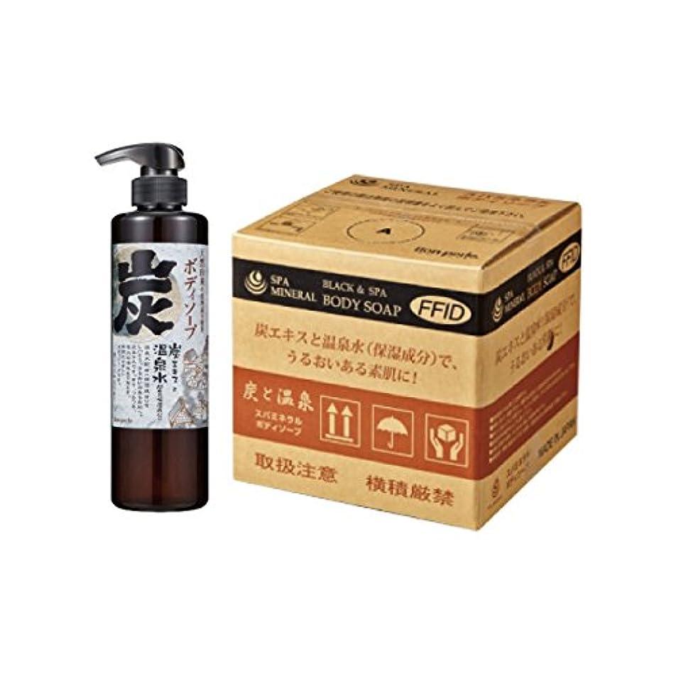 レプリカ完璧ポスト印象派スパミネラル 炭と温泉 ボディソープ 業務用 20 L