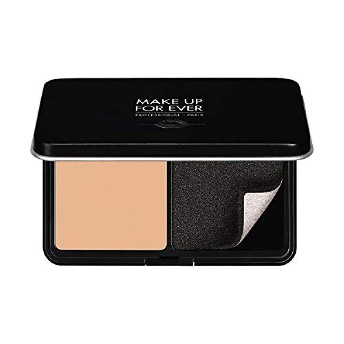 シルクコメント減少Make up For Ever マットベルベットスキン コンパクトファンデーション (R230 アイボリー)