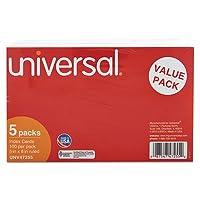 unv47255–ユニバーサルRuledインデックスCards