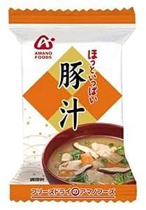 アマノフーズ ほっといっぱい豚汁 11.5g×10個