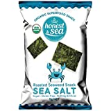 Honest Sea Roasted Seaweed Sea Salt Snack, 5g