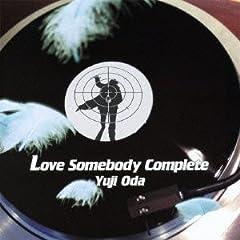 織田裕二「Love Somebody」のジャケット画像