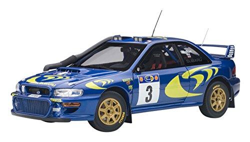 AUTOart 1/18 スバル インプレッサ WRC 1997 #3 コリン・マクレー/ニッキー・グリスト サファリラリー優勝 完成品