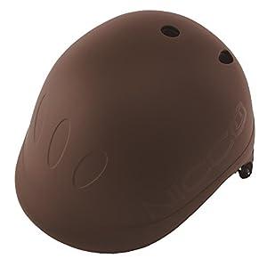 クミカ工業 Nicco ヘルメット ビートル/KM001/キッズ用/49-54cm/CE/日本製/ハードシェル マットブラウン