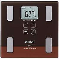 オムロン 体重体組成計 カラダスキャン HBF-224-BW ブラウン HBF-224-BW