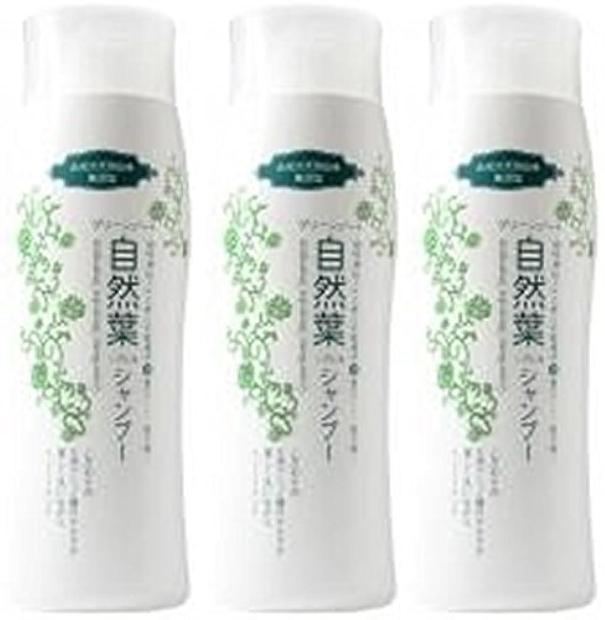 繁栄するレイアウトのりグリーンノート 18種天然アミノ酸 自然葉シャンプー 300ml   3本セット
