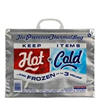 American Bag Company Hot/Cold Bags Small - -Pack of 50 by American Bag Company [並行輸入品]