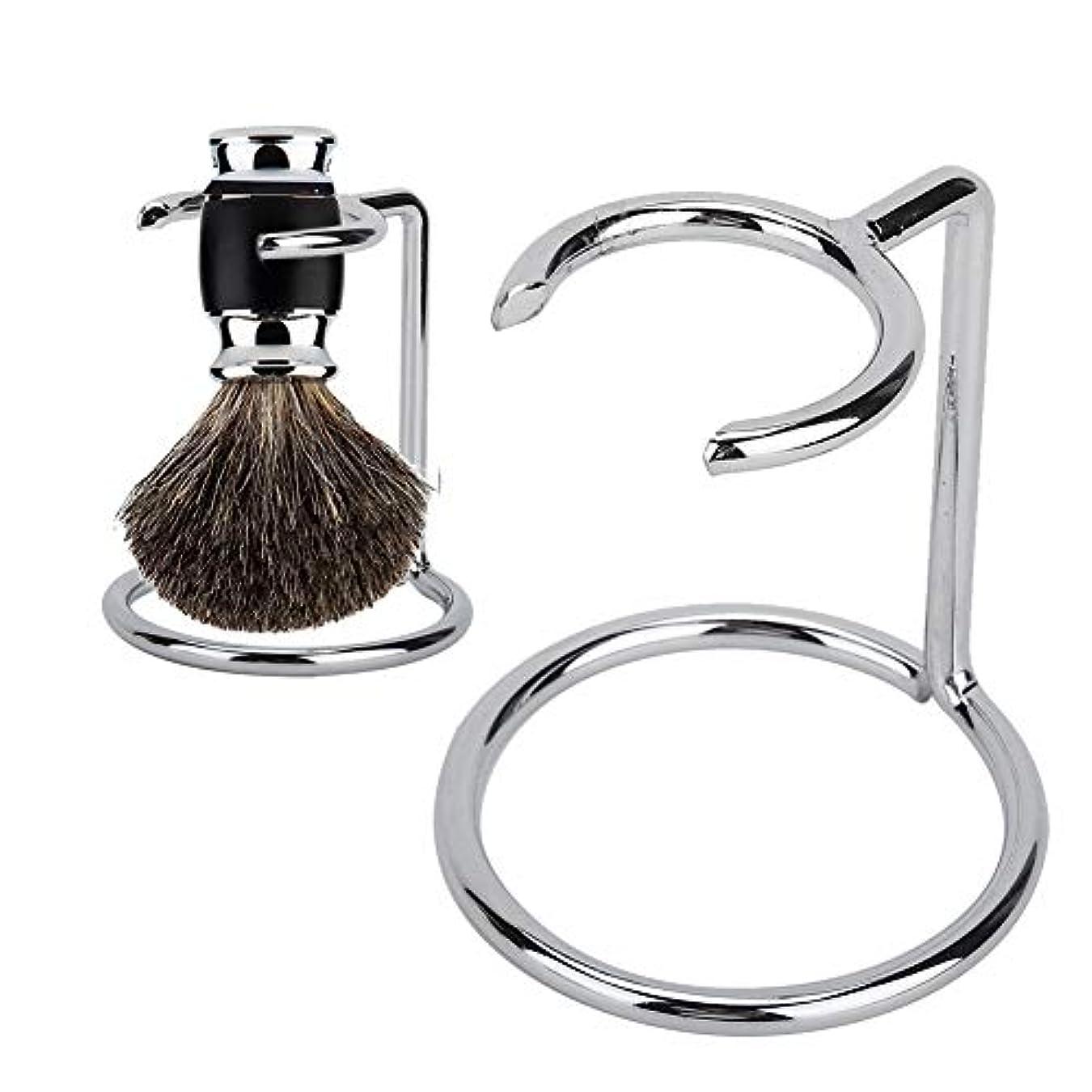 帳面キロメートルフラスコ剃毛ブラシ立場、ステンレス鋼材料はサロンの使用のための適した錆の流行の安全ブラシホルダーを防ぎます家の使用および旅行使用