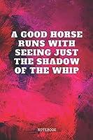 "Notebook: Horseback Riding - Equestrian Riding Planner / Organizer / Lined Notebook (6"" x 9"")"