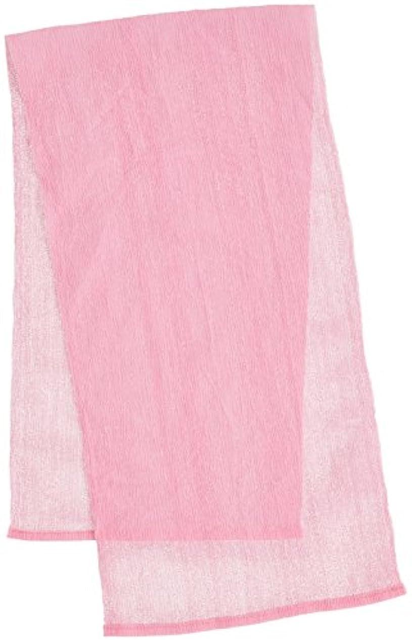 ハンサムやさしく努力マーナ WCナイロンタオルふつう ピンク B438