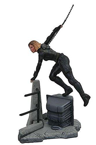 Diamond Select Toys Marvelギャラリー: Avengers infinity War Movie Black Widow PVC Diorama Figure