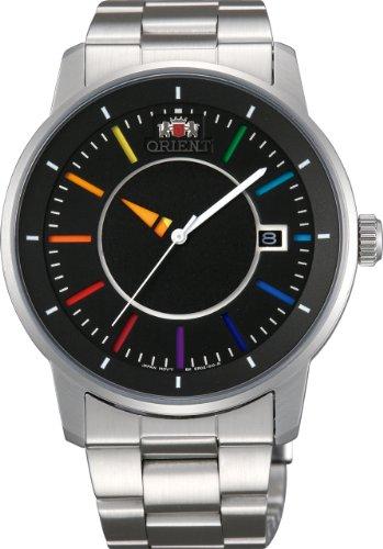 [オリエント]ORIENT 腕時計 スタンダード STYLISH AND SMART DISK スタイリッシュ アンド スマート ディスク RAINBOW レインボー 自動巻き WV0761ER メンズ