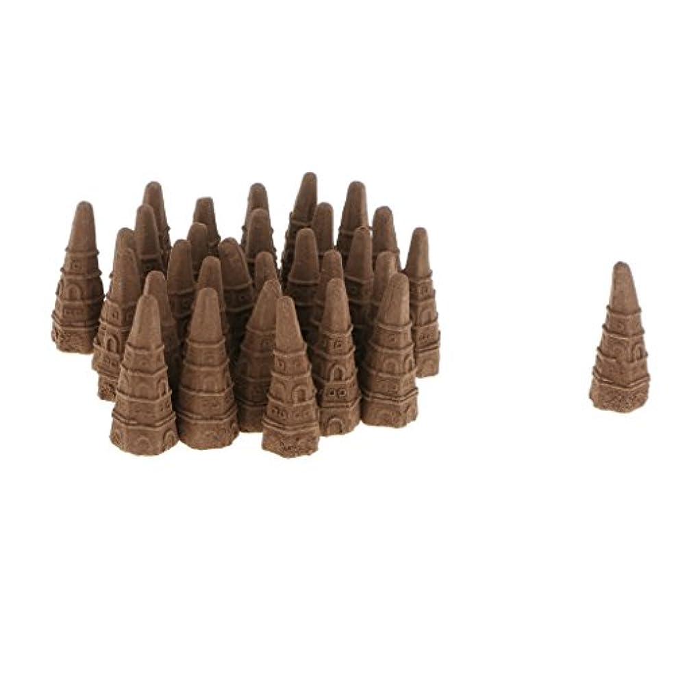 モーター関連する有名な逆流香り 仏教 サンダルウッドコーン 全2種 - ホイアギラウッド