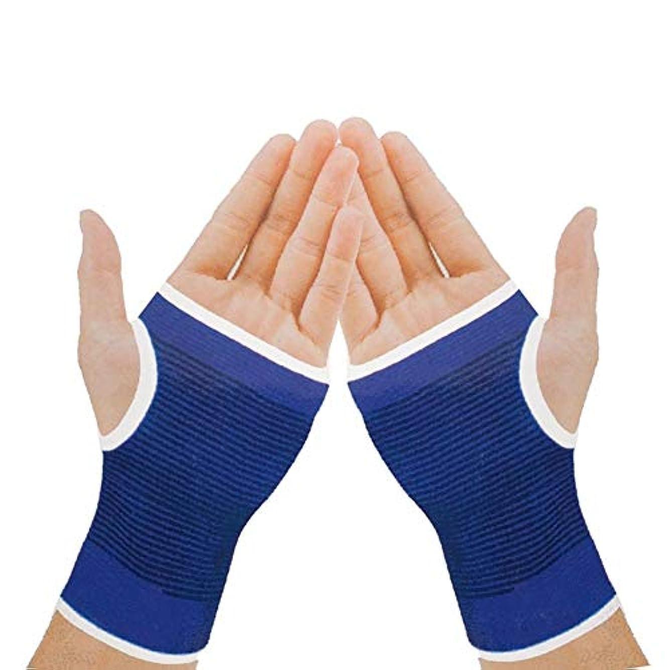 回転呪われたテレビを見る弾性手首ハンドブレース手首グローブパーム手首ハンドサポート手袋ブレーススリーブ包帯ラップの痛みを軽減する関節の痛みジムスポーツサポート1ペア