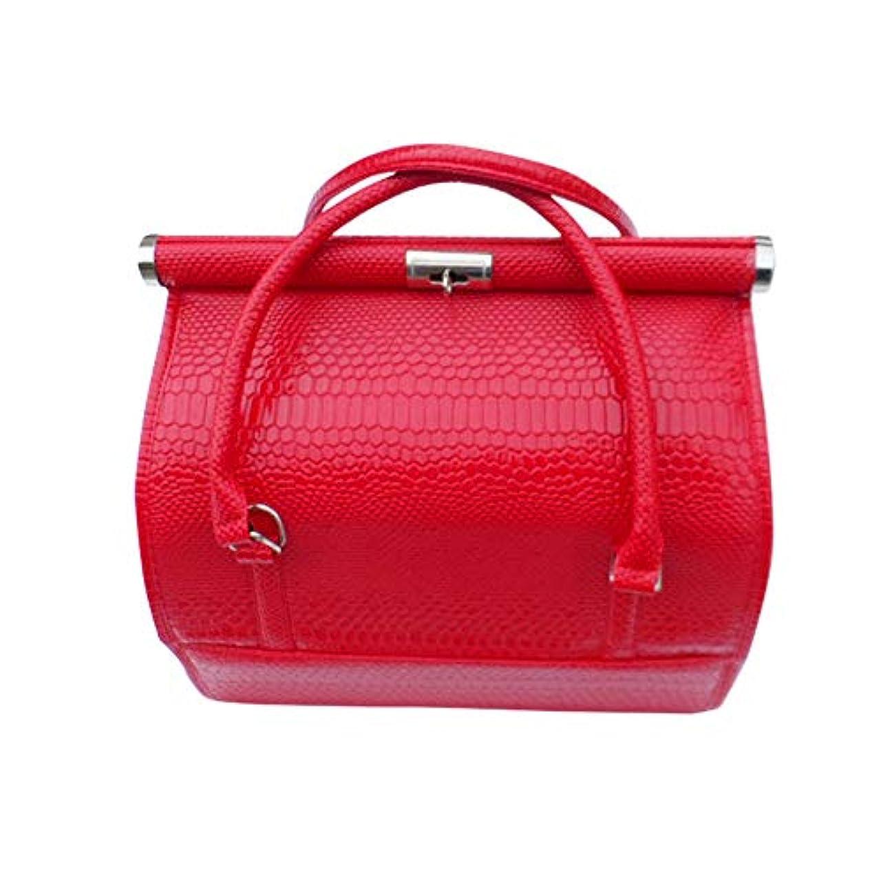タッチ省略するライム化粧オーガナイザーバッグ 女性の女性のための美容メイクアップのためのポータブル化粧品バッグ旅行と折り畳みトレイで毎日のストレージ 化粧品ケース