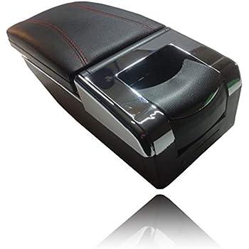 【Piece of peace product】 MAZDA マツダ CX-3 DK系 デミオ DJ系 アームレスト コンソール ボックッス 多機能 小物入れ ドリンクホルダー (CX3 dデミオ ブラックR)