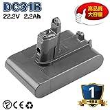 Dyson ダイソン互換バッテリー 22.2v 2.2Ah ネジ式 DC34 DC35 DC31 DC44 DC45対応 ダイソン掃除機用 互換バッテリー TypeB 1年保証 OKEY