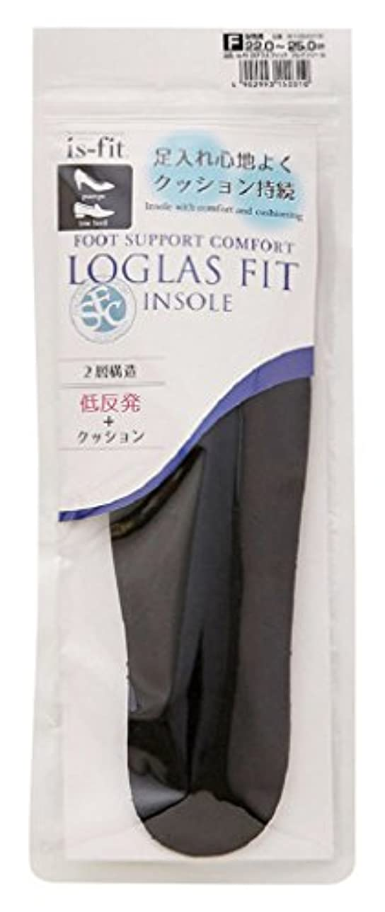 モリト is-fit(イズ?フィット) ログラスフィット フルインソール 女性用 フリーサイズ (22.0~25.0cm)
