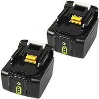 BL1460b マキタバッテリー 14.4v 6.0Ah 作業工具バッテリー マキタ互換バッテリー 【2個セット】BL1430 BL1450 BL1460 BL1430B BL1440B BL1450Bに純正互換品対応 リチウムイオン電池 長期1年安心保証付き THiSS