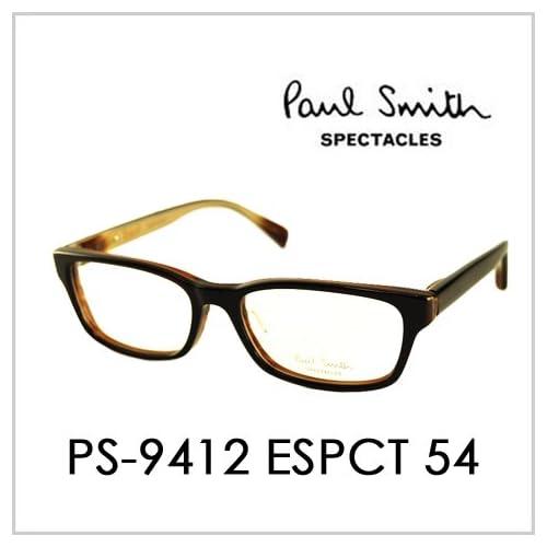 PAUL SMITH ポールスミス  メガネフレーム サングラス 伊達メガネ 眼鏡 PS-9412 ESPCT 54 PAUL SMITH専用ケース付 スペクタクルズ