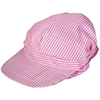 Pink Engineer Hats - Girls Train Conductor Hats pack of 12
