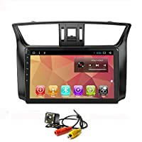 Android 7.1 カーラジオ GPS ナビ用 Nissan Sylphy Sentra 2012-2015 ステレオナビゲーションヘッドユニット Wifi マルチメディアプレーヤーブルートゥース (Android 7.1 1/16GのSylphy 12-15)