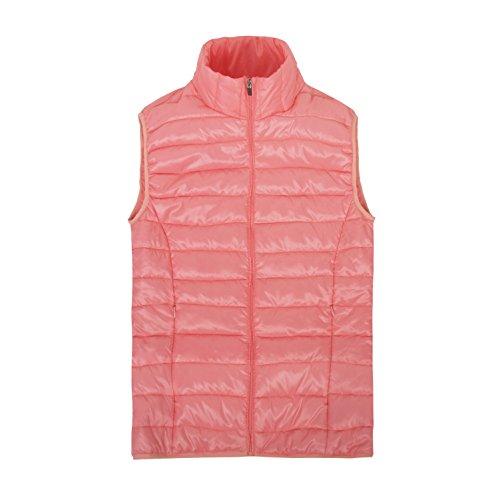 [해외]여성 경량 다운 베스트 울트라 라이트 내부 코트 캐주얼 야외 - 겨울 민소매 보온 방한 여러 가지 빛깔의/Women`s Lightweight Down Vest Ultra Light Inner Coat Casual Outdoor - Fall Winter Sleeveless Heat Insulated Warm Multicolored