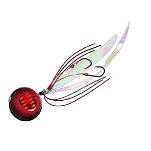 メジャークラフト メタルジグ タイノミ60g TM-60/#9 RED/BLACK