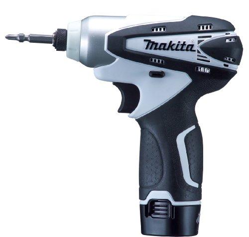 マキタ 充電式インパクトドライバ 10.8V TD090DWSPW バッテリー1個付き