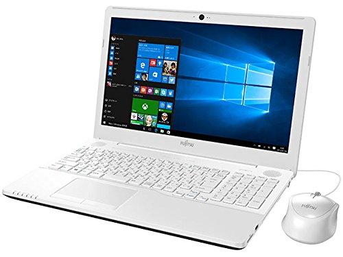 富士通 15.6型ノートパソコンFMV LIFEBOOK AHシリーズ AH42/Yプレミアムホワイト(Office Home&Business Premium プラス Office 365) FMVA42YW