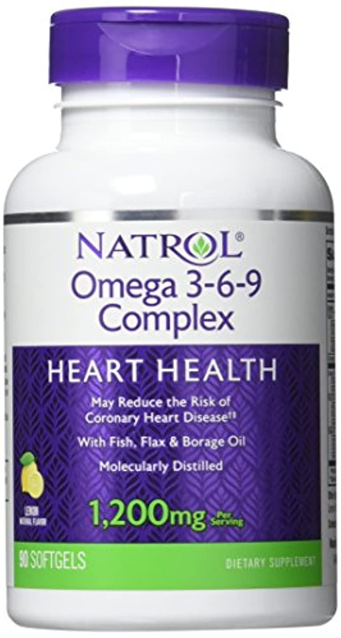 入植者何もないエクスタシーNatrol - Omega 3-6-9 Complex, 90 softgels by Natrol
