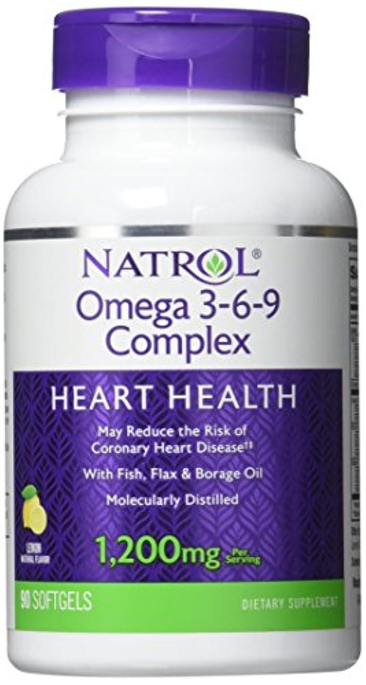 原始的な読む技術者Natrol - Omega 3-6-9 Complex, 90 softgels by Natrol