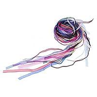 Sharplace リボン DIY用 手芸 雑貨 工芸品 飾り グログラン カラフル 手芸用品 手作り 16本入り