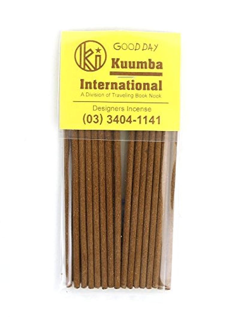 用心する注文サスペンド(クンバ) Kuumbaスティックインセンスお香ミニサイズA(28本入り)MINI-INCENSE?358 F(フリー) GOOD(GOOD DAY)