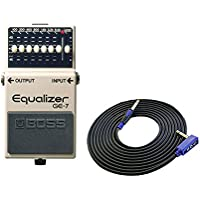BOSS コンパクトエフェクター Equalizer GE-7 + 3m ギターケーブル VOX VGS-30 セット[マークスミュージック・オリジナル]