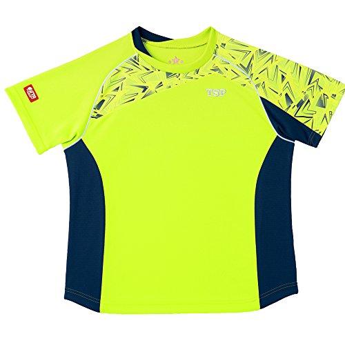 TSP 卓球 レディス オルビットシャツ ライム 3Sサイズ 032407032407