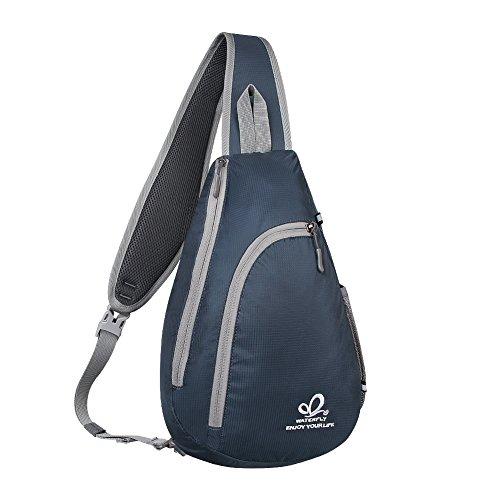 WATERFLY(ウォーターフライ) ワンショルダーバッグ ボディバッグ 斜めがけバッグ 軽量 防水 大容量 アウトドア メンズ レディース