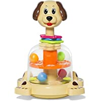 MooToys 'Doggy spinner' Push and spin Dog, Help Develops your baby's Fine motor skills (MT-104)