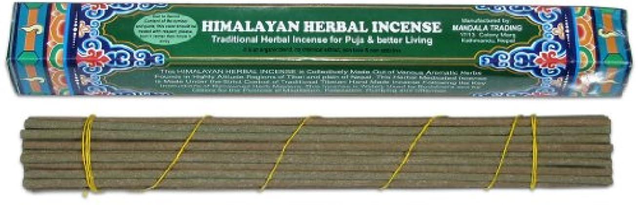 再生可能堤防承認チベットHerbal Incense Sticks