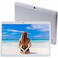 TYD(JP) 10.1インチタブレットPC MTK6580 tablet デュアルSIMスロット 3Gと2G通信 クアッドコア Android 7.0対応 RAM 2GB+ROM 32GB 1920*1080 IPS液晶 64ビット クアッドコア デュアルカメラ/Wi-Fi/BT4.0 (銀色)TYD-108 (銀色) … (银)