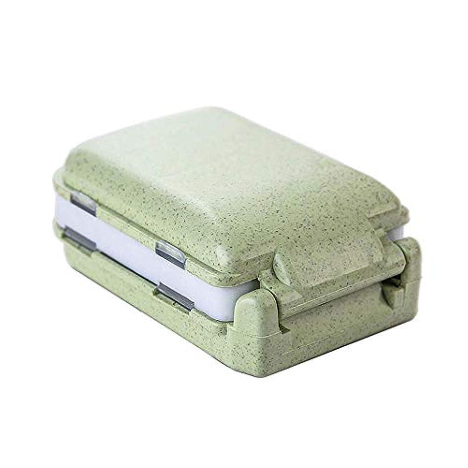 KOBWAミニ薬箱 携帯用薬ケース 薬入れ ピルケース サプリメントケース 小物入れ 錠剤パック 習慣薬箱 旅行用 家庭用 薬の飲み忘れ防止