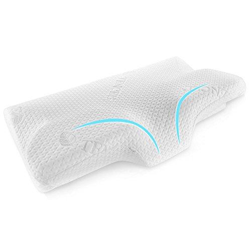 InThoor 枕 低反発 まくら マクラ 首・頭・肩をやさしく支える健康枕 人間工学設計 4つの寝姿勢をサポート快眠枕 安眠 通気性抜群 洗える
