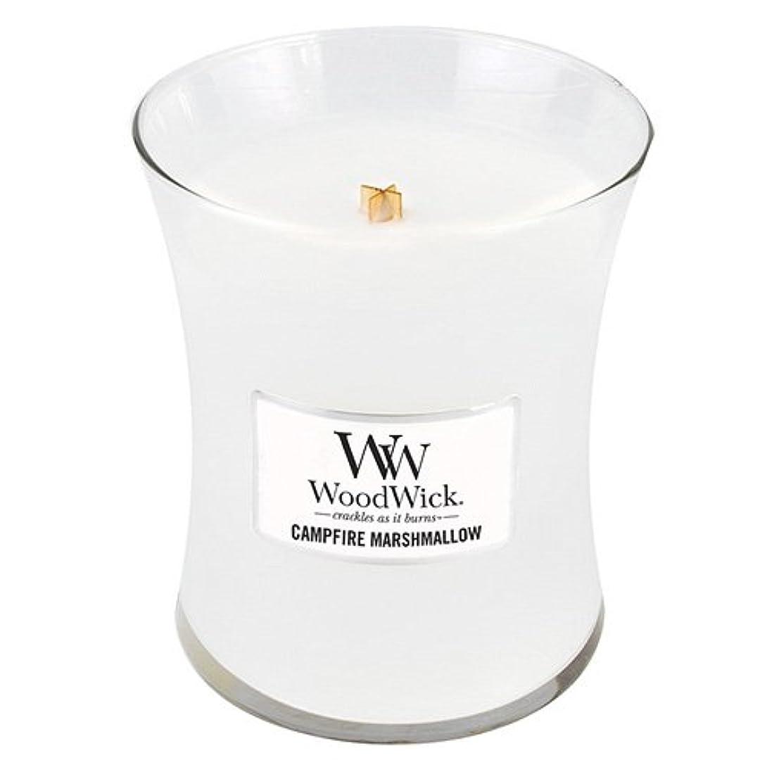 繁栄アイスクリーム渦Woodwick 300ml Candle - Campfire Marshmallow