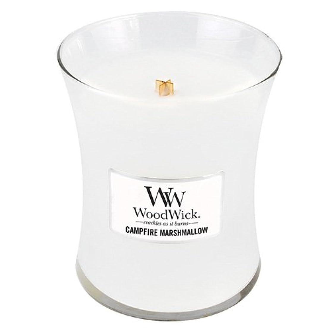 故障輪郭取り除くWoodwick 300ml Candle - Campfire Marshmallow
