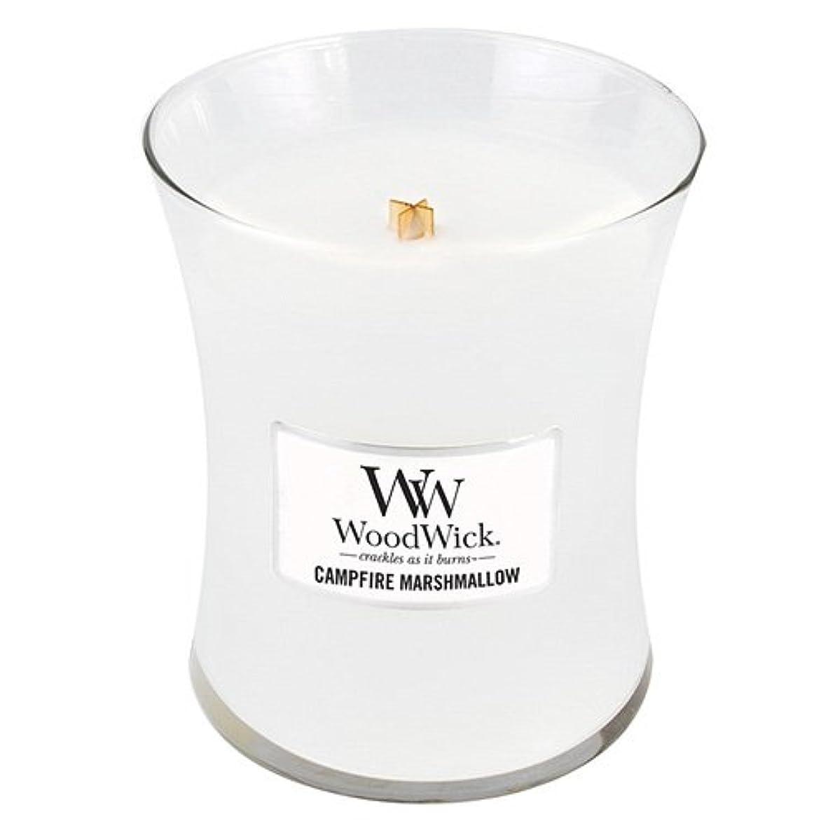 ヒゲ六月スプリットWoodwick 300ml Candle - Campfire Marshmallow