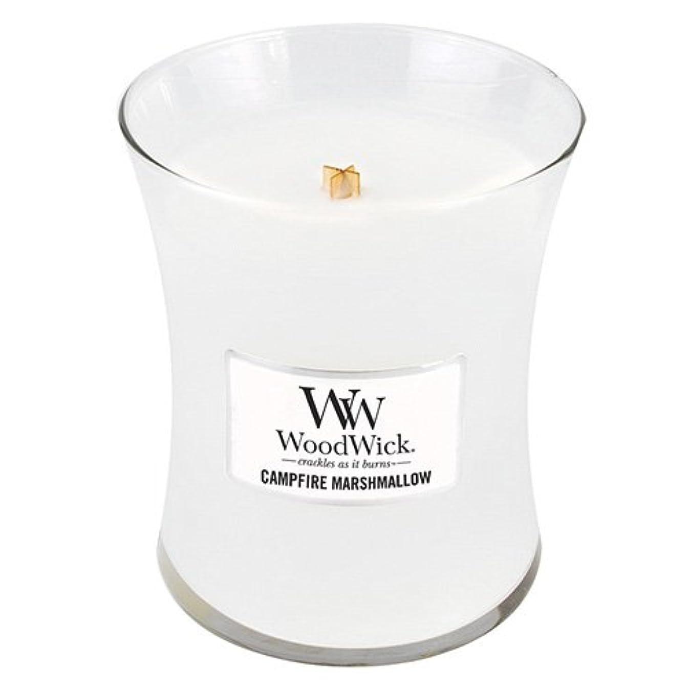 導入するアラーム腰Woodwick 300ml Candle - Campfire Marshmallow