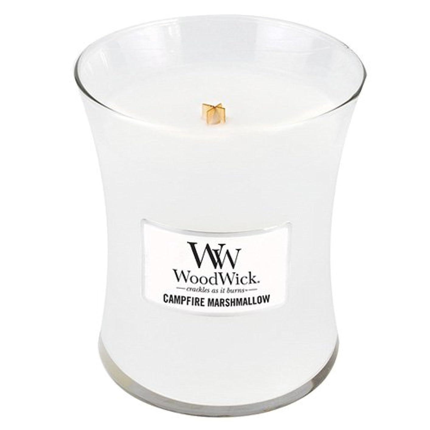 サンドイッチシャット立派なWoodwick 300ml Candle - Campfire Marshmallow